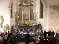 Kirchenchor und Musikverein luden ein zum Innehalten
